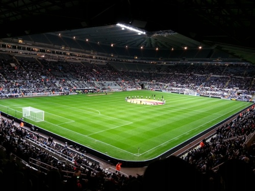 Newcastle United stadium St James' Park