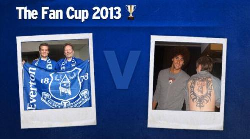 Everton fan cup